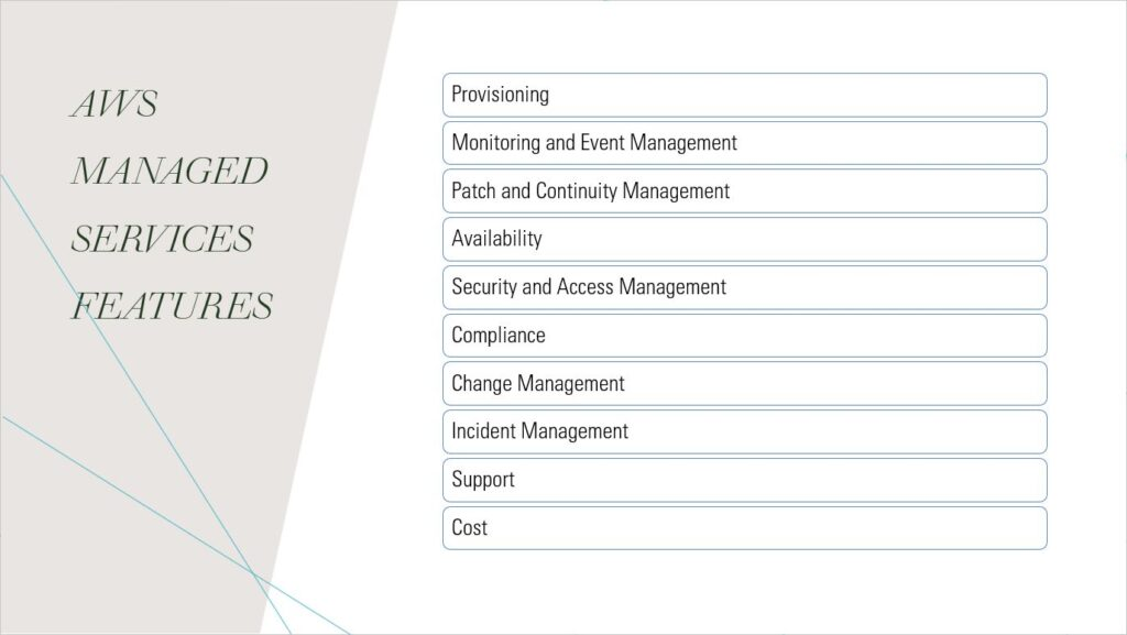 AWS-MANAGED-SERVICES-FEATURES